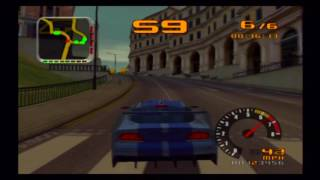 Test Drive 2002 (Overdrive) (PS2) - Gameplay