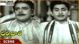 Dharma Daata Movie || ANR Worry About Nagabhushanam Asking Dowry || ANR, Kanchana || Shalimarcinema