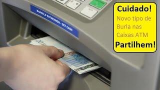 Cuidado nova burla nas caixas de multibanco ATM (caixa eletrônico) | anossalife.com