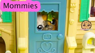 LPS Mommies Home From Date Part 58 Littlest Pet Shop Series Video LPS Bobblehead Cats - Cookieswirlc