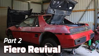 You've Been Asleep, Cap | 1985 Fiero 2M4 Revival - Part 2