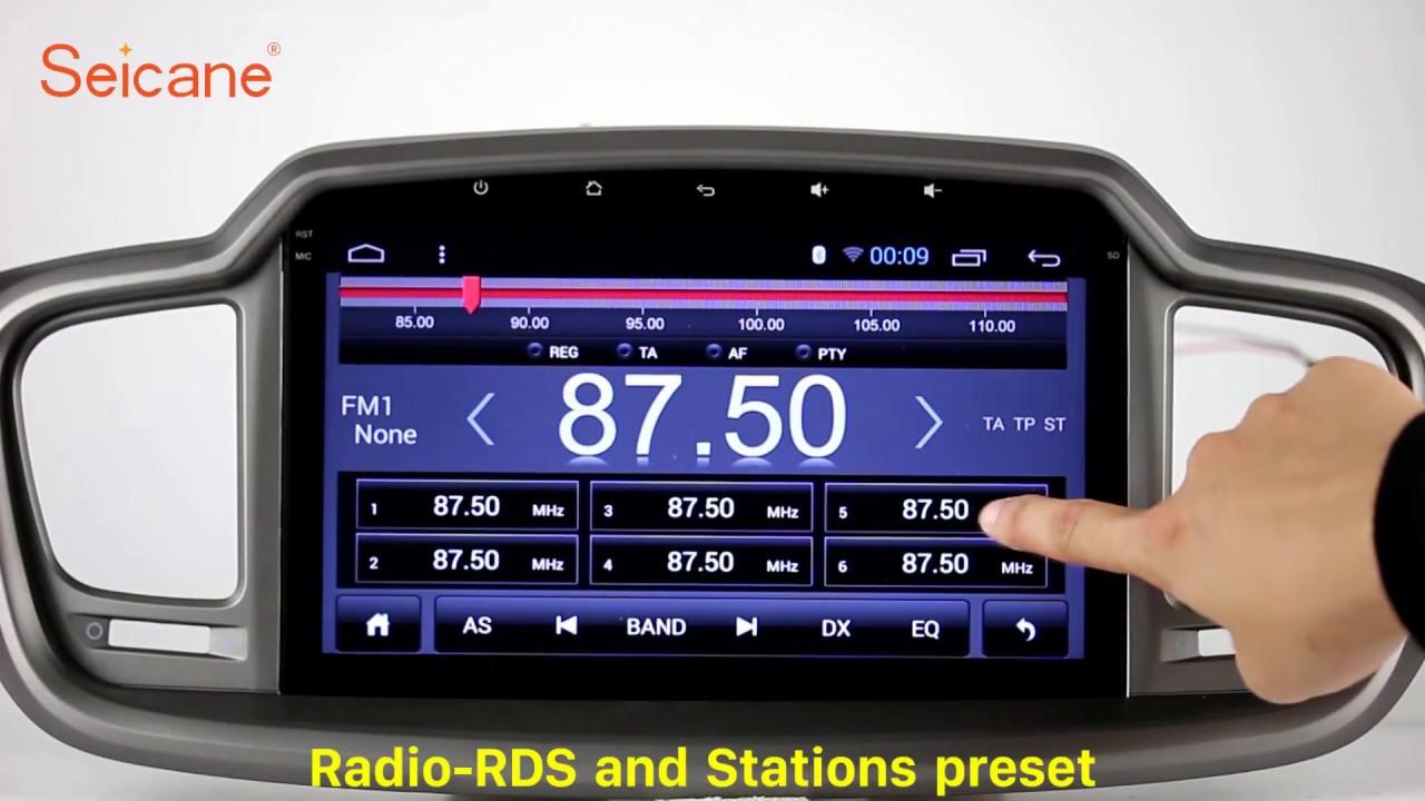 Aftermarket Sat Nav 2017 Kia Soo Radio Gps Stereo Upgrade