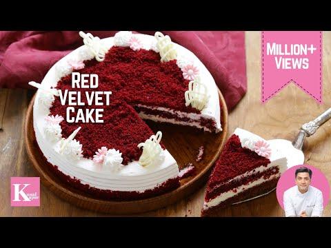 Red Velvet Cake रेड वेल्वेट केक | Valentines Day | Kunal Kapur Recipes | The K Kitchen Chef Kapoor