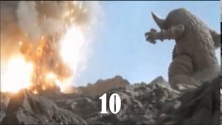 ウルトラギャラクシー大怪獣バトル 殺す 数える Ultra Galaxy Mega Monster Battle: NEO (2008 - 2009) killcount