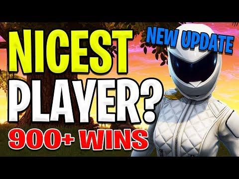 FORTNITE | Nicest Player | Average Player | 900+ wins | Vbuck Giveaway | Battlepass Giveaway