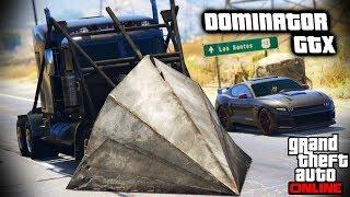 GTA V| Dominator GTX & Phantom Wedge Chase (Cinematic)