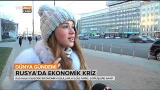 Rus Halkına Ekonomik Krizi Sorduk - Dünya Gündemi -TRT Avaz