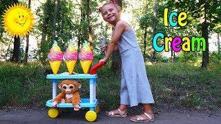 Melissa vinde INGHETATA   Pretendent Play in ICE Cream Show
