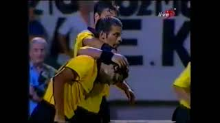 2001-02 UEFA CUP Round of 96 (1) AEK-HIBERNIAN