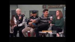 For once, the Degrassi cast drop by NML on a Thursday since it's Go...