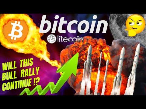 🔥 BITCOIN And LITECOIN Can This Rally Continue?🔥bitcoin Price Prediction, Analysis, News, Trading