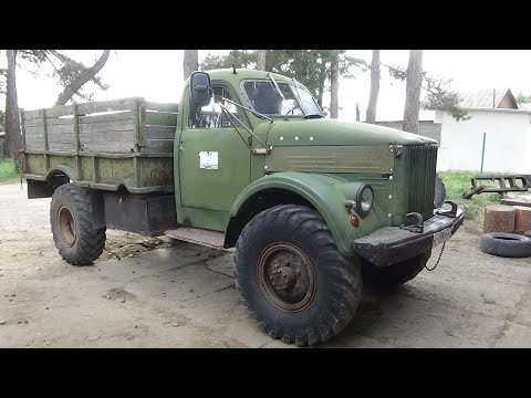 ГАЗ-63 с сердцем от Мерседес ч 6. Финал !