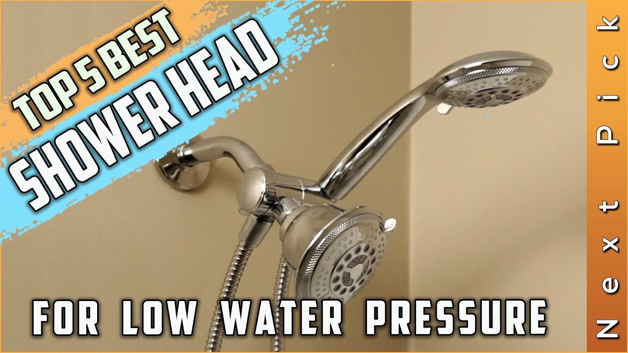 Top 5 Best Shower Head For Low Water Pressure Reviews In 2020 Youtube
