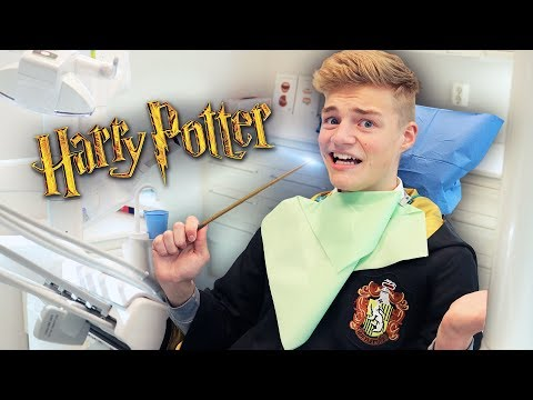 WEARING A HARRY POTTER HOGWARTS UNIFORM FOR A DAY!