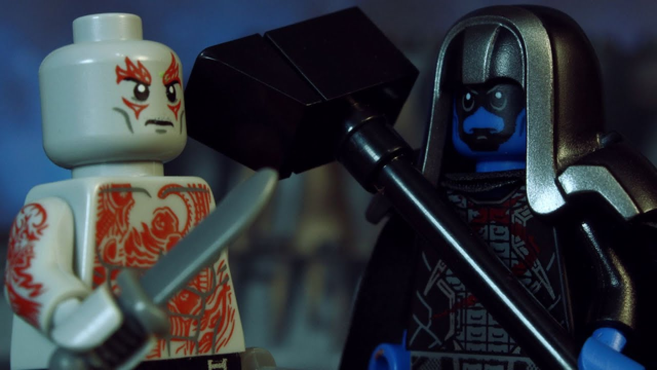 LEGO Guardians of the Galaxy: Drax vs Ronan - YouTube