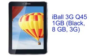 iBall 3G Q45 1GB Specification [INDIA]