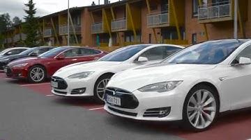 Tesla Club Finland in Sähkötalo 2015