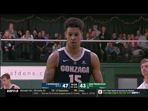 Brandon Clarke Vs SAN 24 PTS                               1.12.19