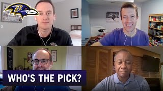 Draft Debate: Ravens Reporters Make Their Final Picks