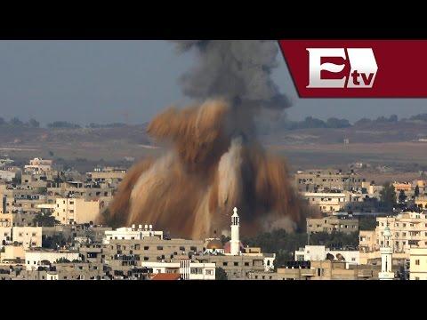 Israel Ataca Otra Vez La Franja De Gaza Tras Nuevos Disparos De Cohetes Palestinos/ Global