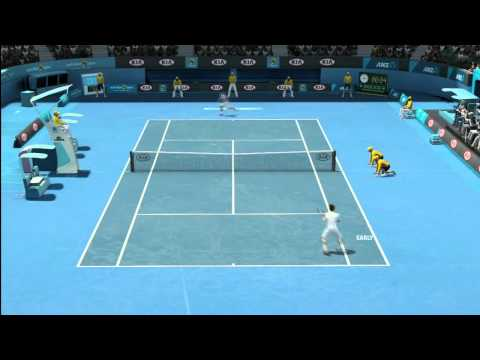 Grand Slam® Tennis 2 - Novak Djokovic vs. Andy Murray - [5 min Unedited Gameplay]