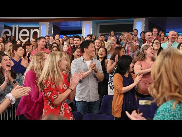 Audience Members Answers That Literally Knocked Ellen Off Her Feet