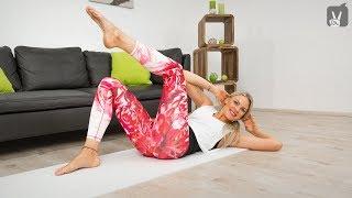 Bauchmuskeln trainieren in 5 Minuten: Pilates Workout mit Linda