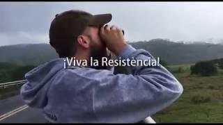 La Resistència envía un mensaje desde el exilio en Costa Rica