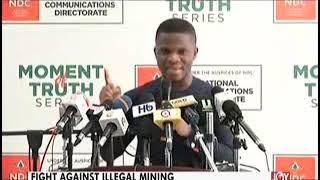Pres. Akufo-Addo has failed in dealing with menace – Sammy Gyamfi (23-4-19)