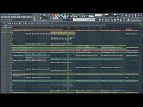 Fl Studio Template/Tutorial - Future Bass/Chill Trap #4 (FLP)