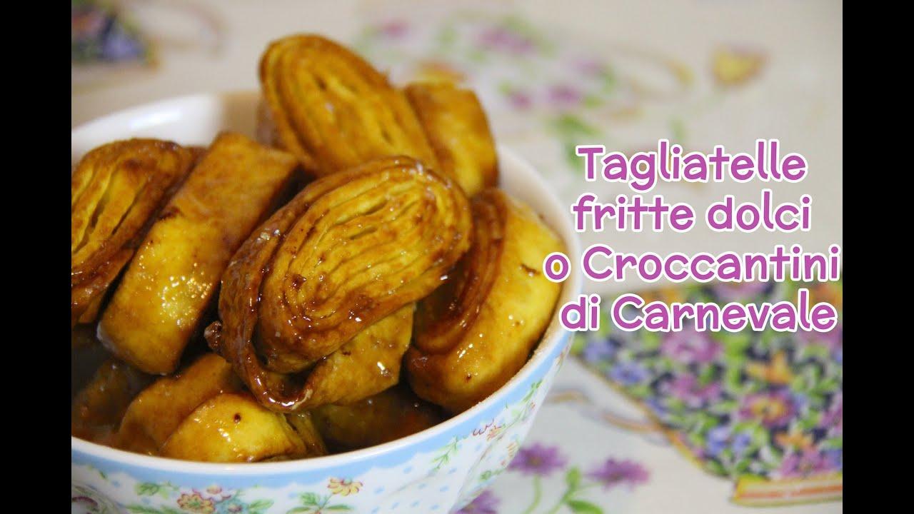 Tagliatelle dolci fritte di carnevale ricetta originale for Ricette dolci di carnevale
