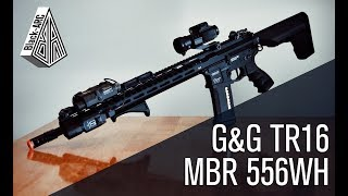 G&G's Top Tier TR16 MBR 556WH G2 | Openbox w/ field test! | Black_Arc Airsoft