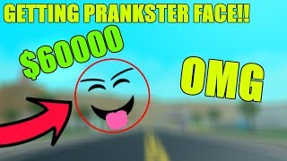 GETTING PRANKSTER FACE!   ROBLOX