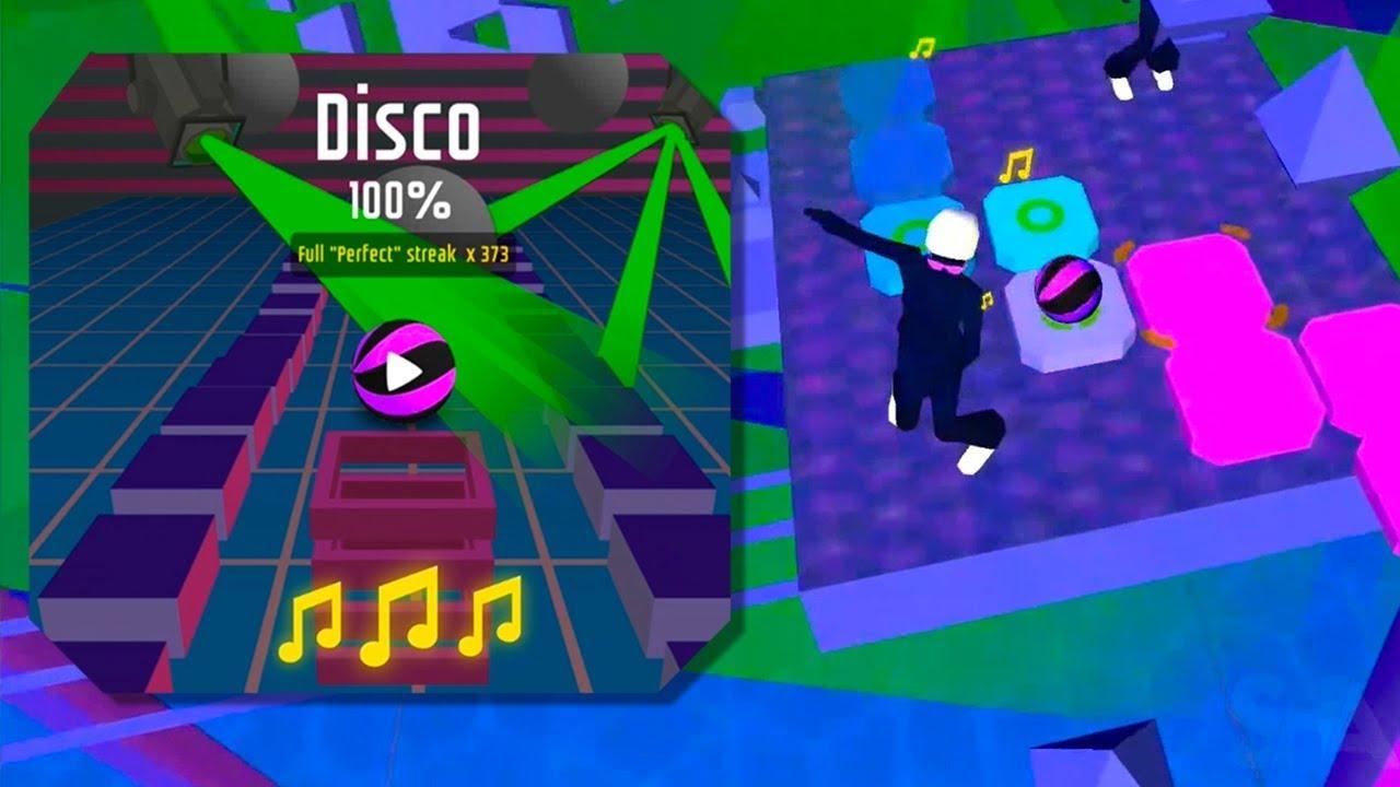 Dancing Ball World – Disco