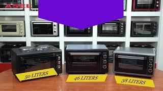 ASEL - Mini Ovens 38lt Capacity & 46lt Capacity & 50lt Capacity