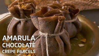 Amarula Chocolate Crepe Parcels
