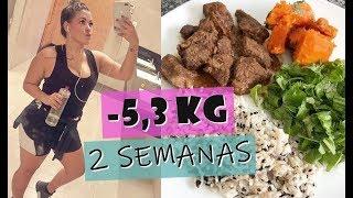 COMO PERDI 5,3KG EM 2 SEMANAS - DIÁRIO DA DIETA LOW CARB