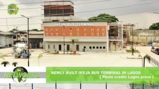 NEWLY BUILT IKEJA BUS TERMINAL IN LAGOS  (Photo credit:  Lagos press)