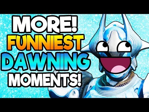 MORE! FUNNIEST DAWNING MOMENTS! Hilarious Destiny 2 Black Armory Dawning Moments! Part 2 thumbnail