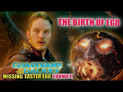 Ego the Living Planet | Missing Guardians of the Galaxy Easter Egg FOUND