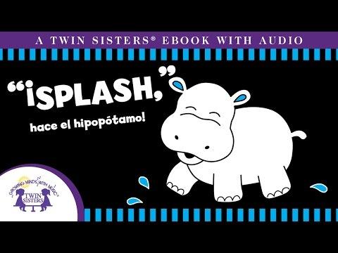"""""""¡splash,""""-hace-el-hipopotamo!---un-ebook-con-audio-de-twin-sisters®"""