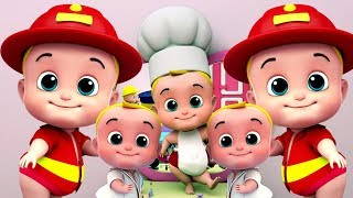 cinque piccoli bambini | canzoni bambino | Rhyme For Babies | Five Little Babies Song | Kids Music