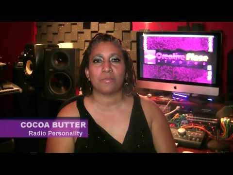 Hampton Roads Radio Personality Cocoa Butter gives a message to her fans
