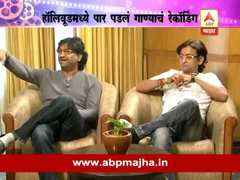 Ajay Atul interview : Sairat Music Recording at Hollywood Sony Studios Los Angeles