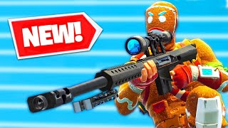 FORTNITE BATTLE ROYALES NEW SNIPER - Fortnite Battle Royale Highlights And Funny Moments #1