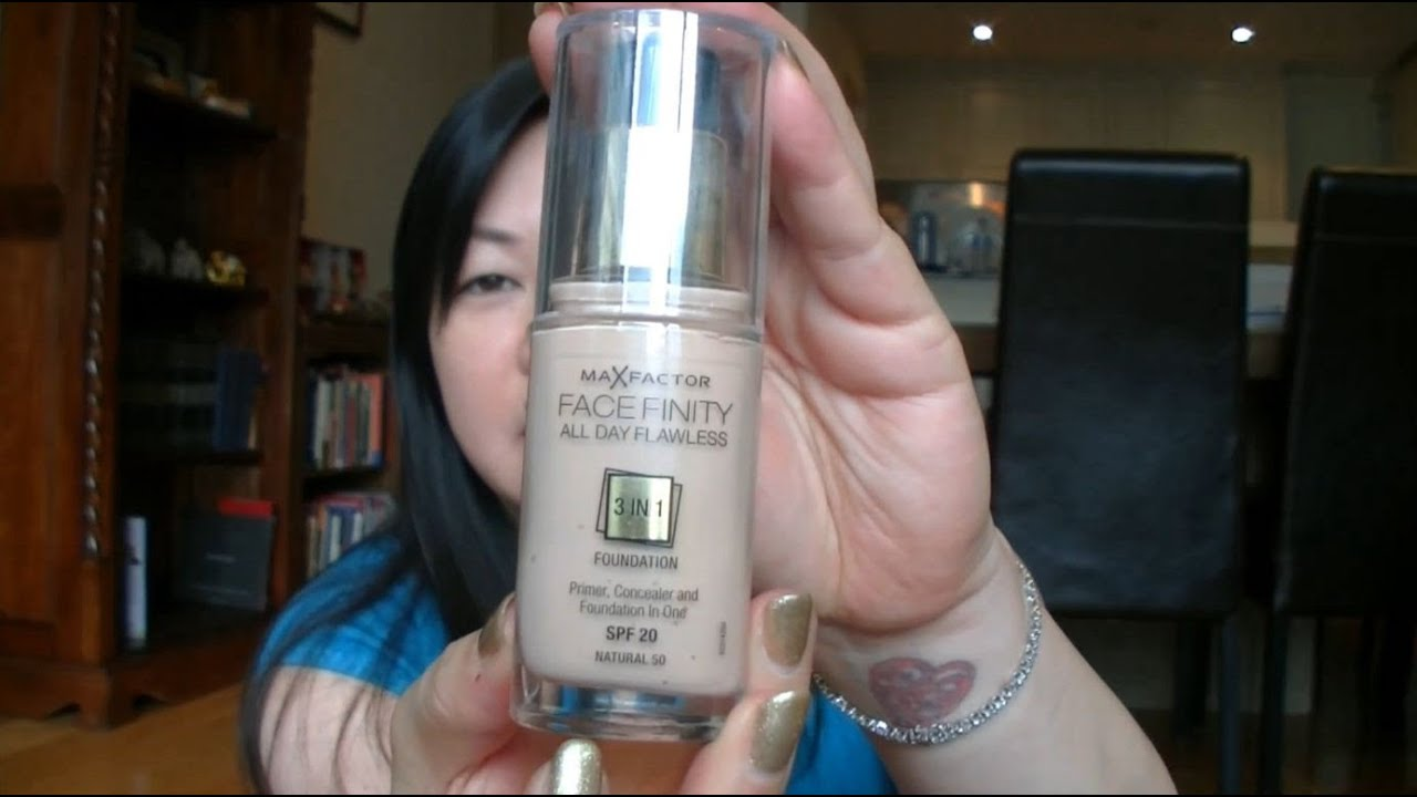 All Natural Face Foundation Review