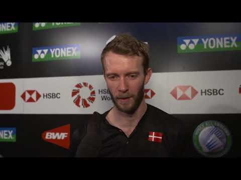 Carsten Mogensen - Interview After Semifinal Match    All England 2018