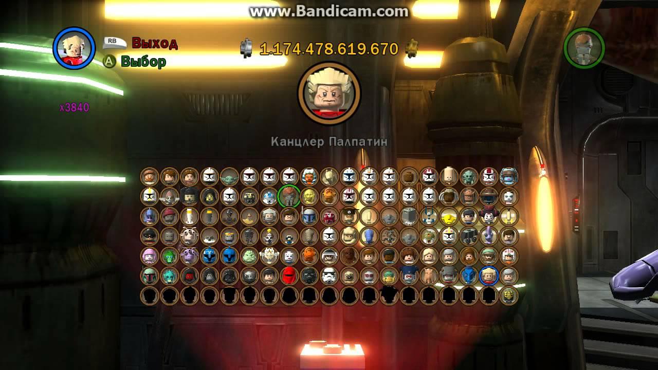 Лего звездные войны игры 100 игры создай своего персонажа звездных войн