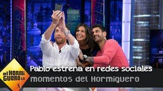 Pablo Motos se estrena en las redes sociales en directo con Nuria Roca - El Hormiguero 3.0