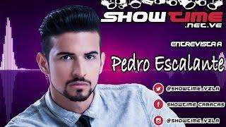 Entrevista a Pedro Escalante